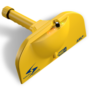 SubSurface Instruments, AML Plus (All Materials Locator) Product - Yellow Diagonal View, Made in the USA