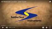 SubSurface Instruments, AML (All Materials Locator) Product - User Guide Video Thumbnail