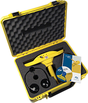 SubSurface Instruments, AML (All Materials Locator) Product in Open Yellow Case