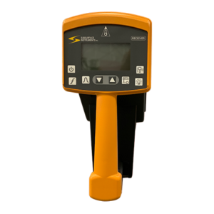 PL-G Pipe and Cable Locator Receiver Panel Front View, Made in the USA - SubSurface Instruments Product